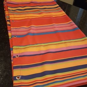 shower curtain striped
